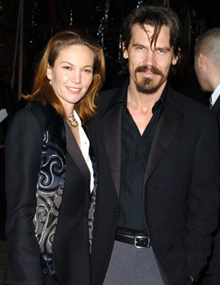 Premiere: Diane Lane and Josh Brolin at the Los Angeles premiere of Universal Pictures' The Wedding Date - 1/27/2005