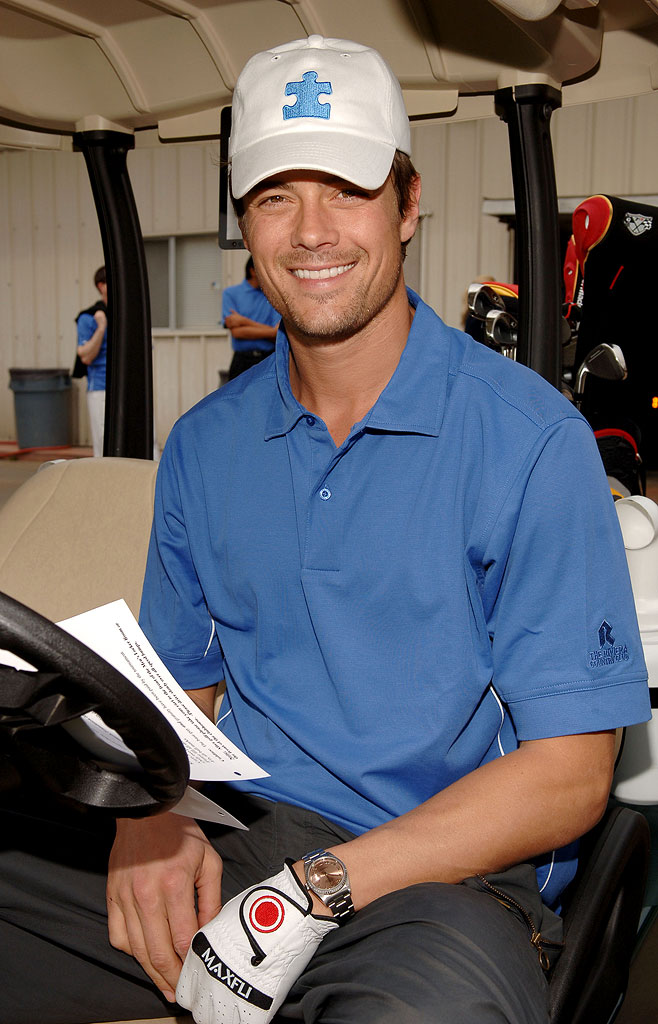 Josh Duhamel at the Autism Speaks Celebrity Golf Tournament.  March 27, 2006