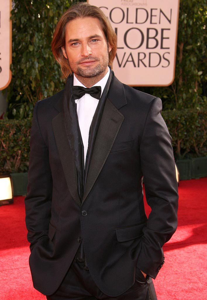 Josh Holloway at the 64th Annual Golden Globe Awards.