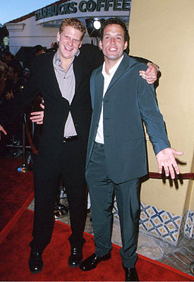 Premiere: Dash Mihok and Josh Hopkins at the Mann's Village Theater premiere of Warner Brothers' The Perfect Storm - 6/26/2000