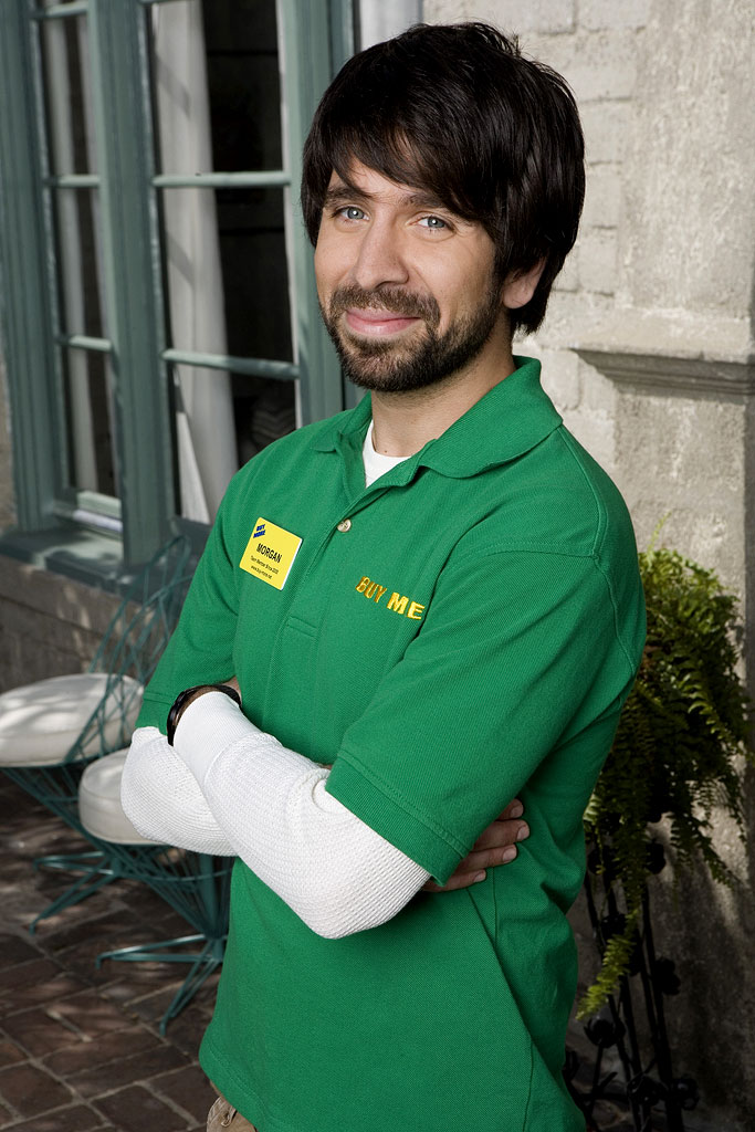 Joshua Gomez stars as Morgan in Chuck.