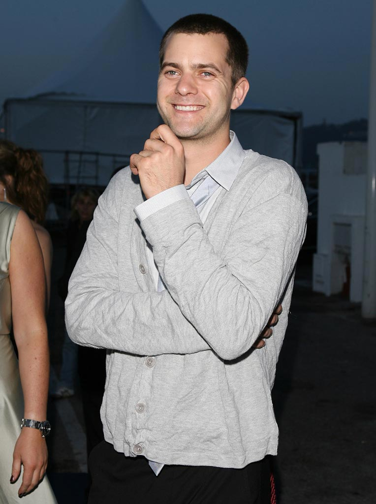 Joshua Jackson at the 2007 Cannes Film Festival Cocktail Party. - May 27, 2007