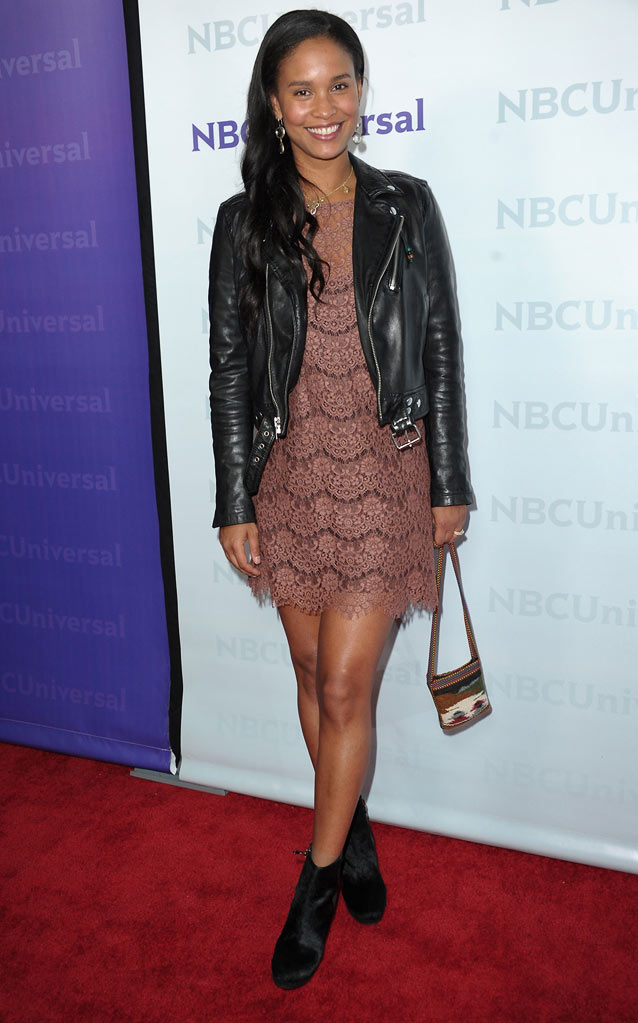 "Joy Bryant (""Parenthood"") attends the 2012 NBC Universal Winter TCA All-Star Party at The Athenaeum on January 6, 2012 in Pasadena, California."