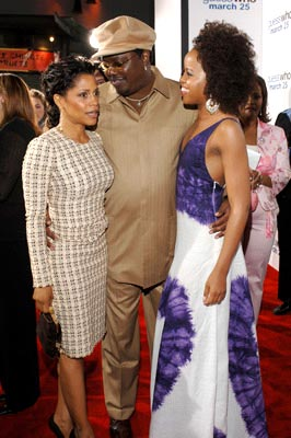Premiere: Judith Scott, Bernie Mac and Kellee Stewart at the Hollywood premiere of Columbia Pictures' Guess Who - 3/13/2005
