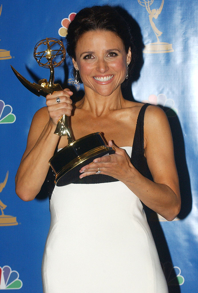 Julia Louis-Dreyfus, winner Outstanding Lead Actress in a Comedy Series for ìThe New Adventures of Old Christine at the 58th Annual Primetime Emmy Awards.