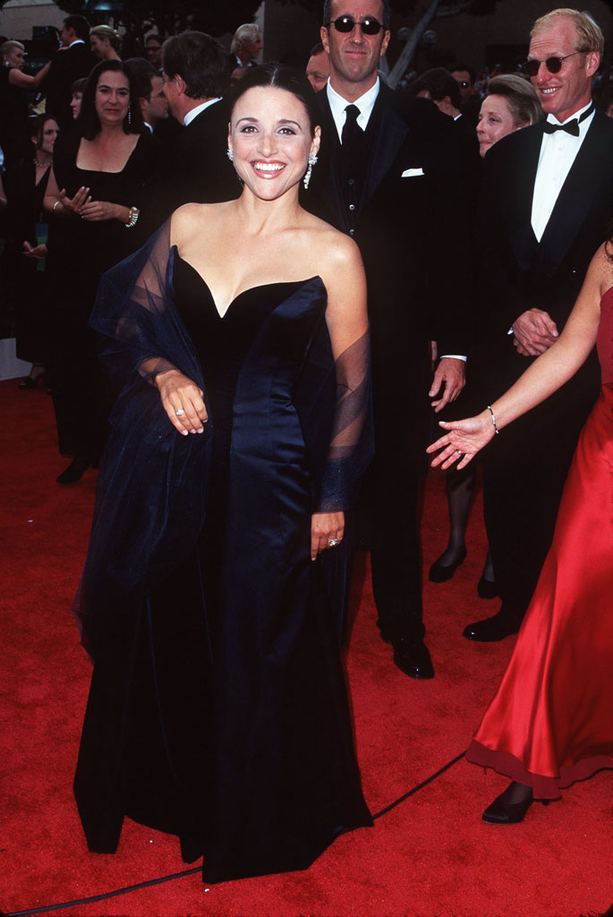Julia Louis-Dreyfus at The 49th Annual Primetime Emmy Awards.