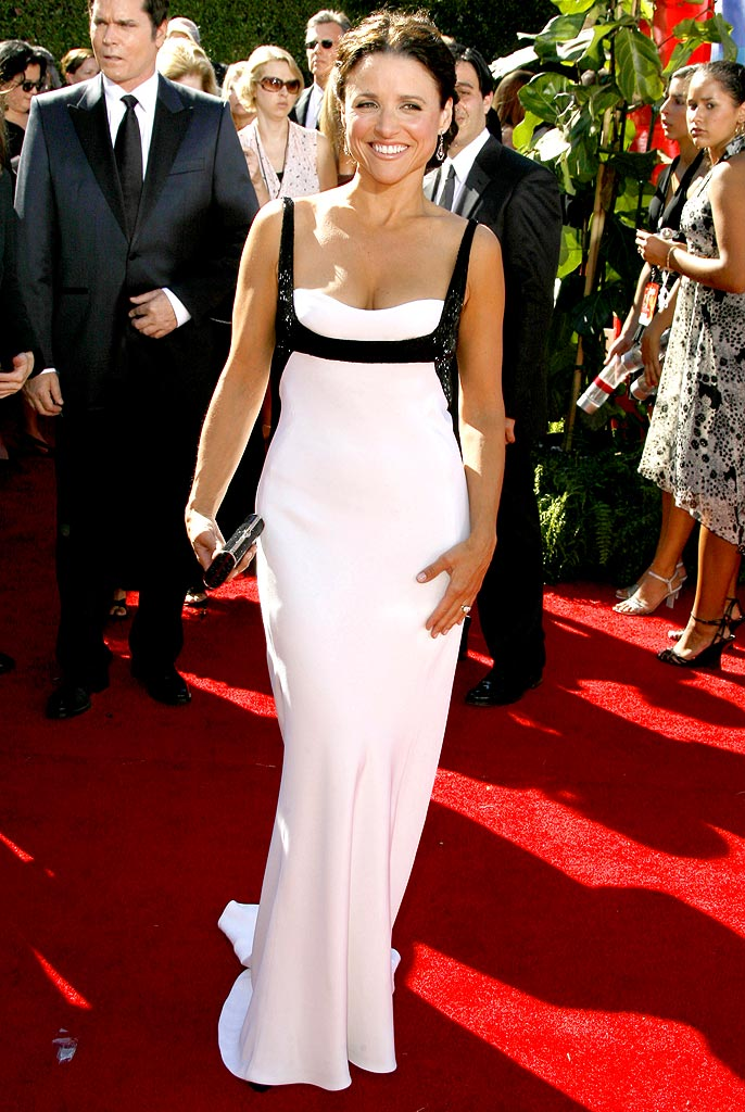 Julia Louis-Dreyfus at The 58th Annual Primetime Emmy Awards.