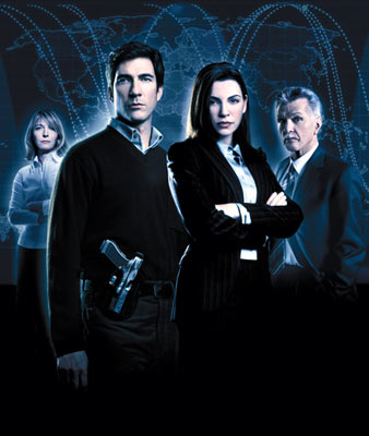 "Jemma Redgrave, Julianna Margulies, Dylan McDermott and Tom Skerritt TNT's ""The Grid"""