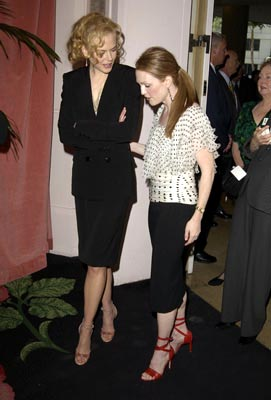 Nicole Kidman (Best Actress Nominee, The Hours) and Julianne Moore (Best Actress Nominee, Far From Heaven) 75th Academy Awards Luncheon Beverly Hills, CA 3/10/2003