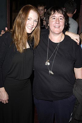 Julianne Moore and Christine Vachon IDPR/John Wells/Killer Films Party Toronto Film Festival - 9/7/2002