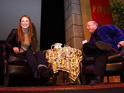 Julianne Moore and Wallace Shawn Piper-Heidsieck Tribute to Julianne Moore Sundance Film Festival 1/20/2001