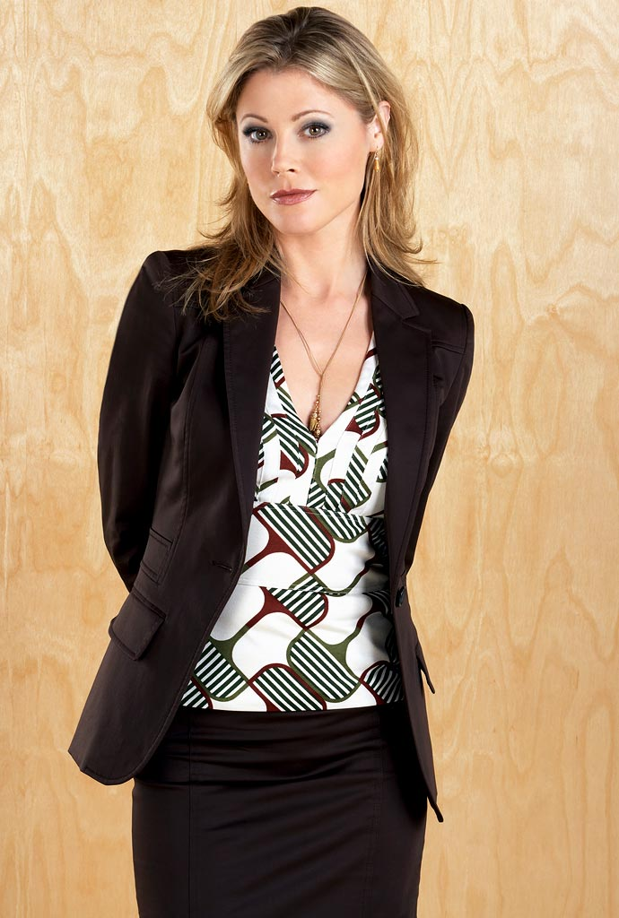 Julie Bowen stars as Denise Bauer on the ABC Television Network's Boston Legal