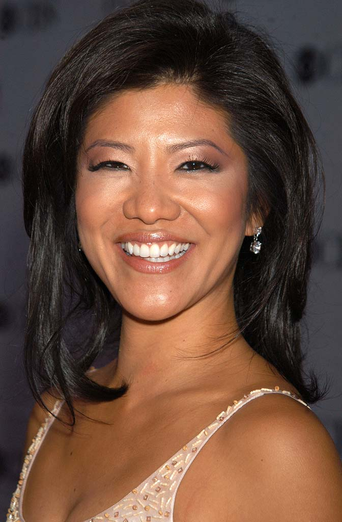 Julie Chen at the 61st Annual Tony Awards.