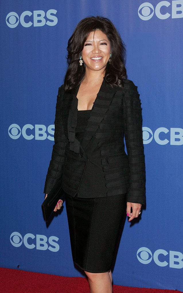 "Julie Chen (""Big Brother"") attends the 2010 CBS Upfront at The Tent at Lincoln Center on May 19, 2010 in New York City."