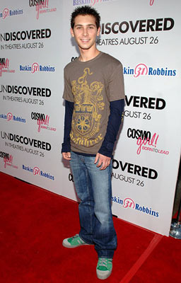 Premiere: Justin Berfield at the Hollywood premiere of Lions Gate Films' Undiscovered - 8/23/2005