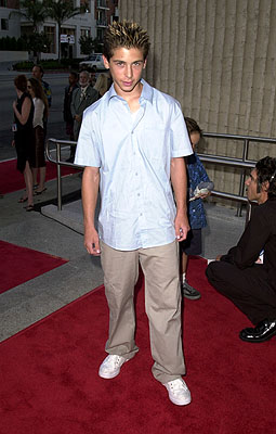 Premiere: Justin Berfield at the Westwood premiere of 20th Century Fox's Dr Dolittle 2 - 6/19/2001