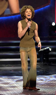 "Justin Guarini Final Three Fox's ""American Idol"" - 2002"