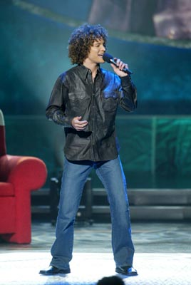 "Justin Guarini Final Three Fox's ""American Idol"" - 8/28/2002"