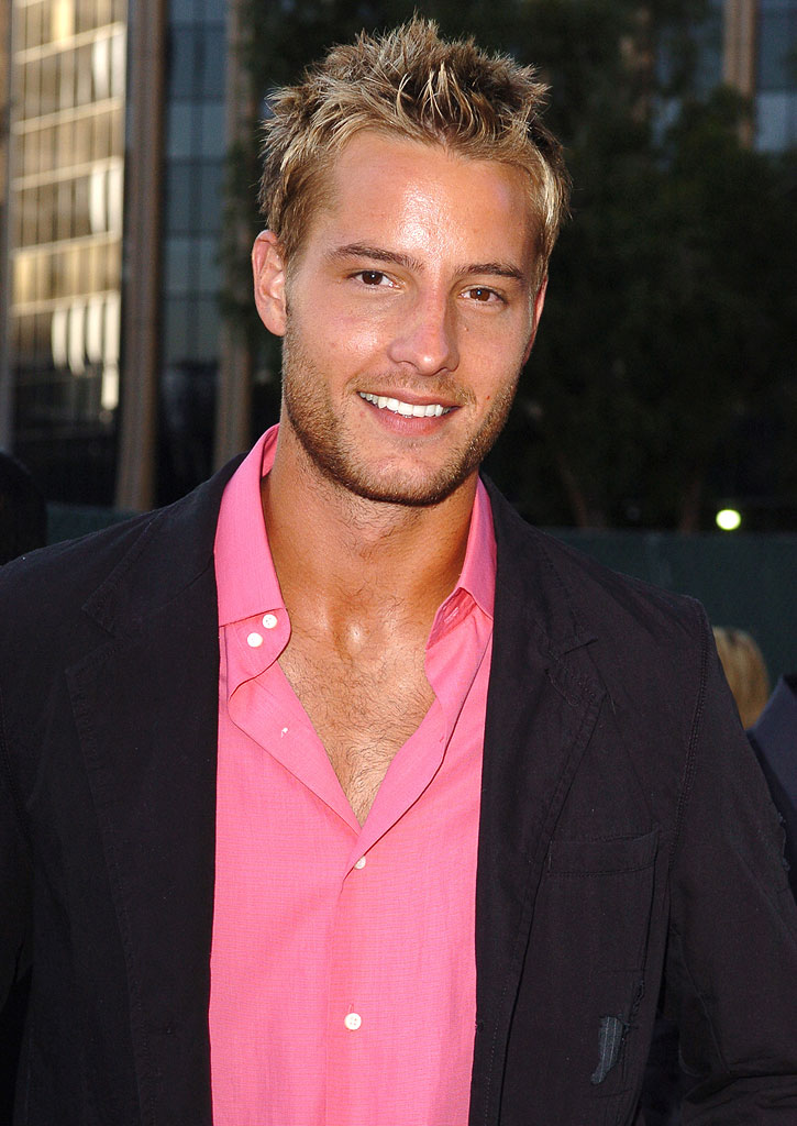 Justin Hartley at the 2005 NBC Network All Star Celebration.