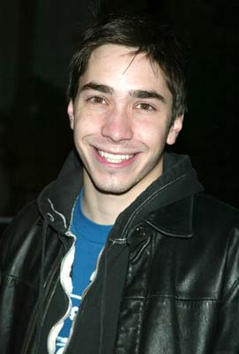 Premiere: Justin Long at the New York premiere of 20th Century Fox's Phone Booth - 3/31/2003
