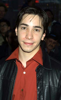Premiere: Justin Long at the New York premiere of Columbia's The Sweetest Thing - 4/8/2002