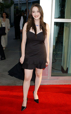 Premiere: Kat Dennings at the Hollywood premiere of Universal Pictures' The 40-Year-Old Virgin - 8/11/2005