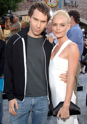 Premiere: Director Bryan Singer and Kate Bosworth at the Westwood premiere of Warner Bros. Pictures' Superman Returns - 6/21/2006