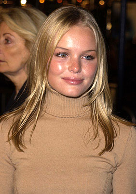 Premiere: Kate Bosworth of Horse Whispering fame at the Westwood premiere of K-Pax - 10/22/2001