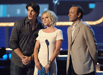 Brandon Routh, Kate Bosworth and Kevin Spacey MTV Movie Awards - 6/3/2006