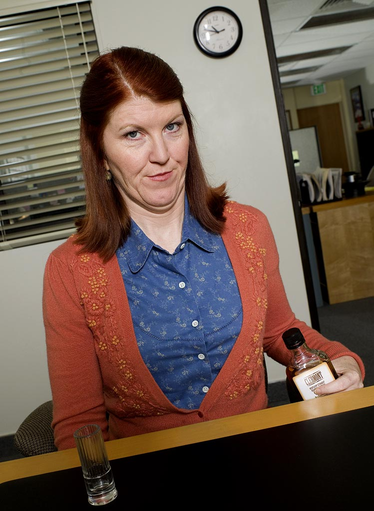Kate Flannery stars as Meredith Palmer on NBC's The Office.