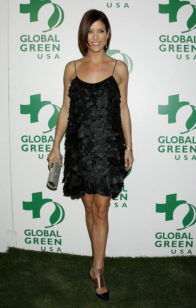 Kate Walsh arrives at Global Green USA's 6th Annual Pre-Oscar Party at Avalon Hollywood on February 19, 2009 in Hollywood, California.
