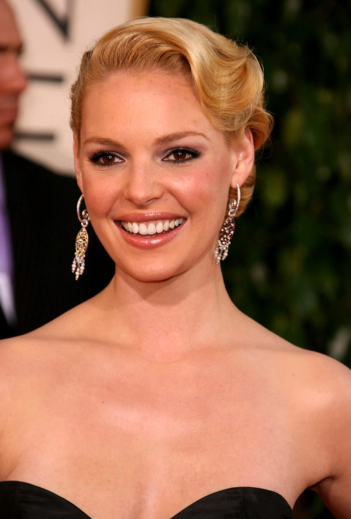 No. 3 is Katherine Heigl who is having quite a summer with the success of Knocked Up and lots of talk of her engagement. She'll be back on the small screen for Season 4 of  Grey's Anatomy in the fall.