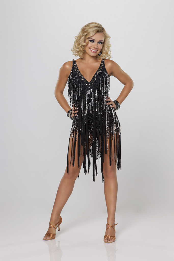 "Katherine Jenkins competes on Season 14 of ""Dancing With the Stars."""