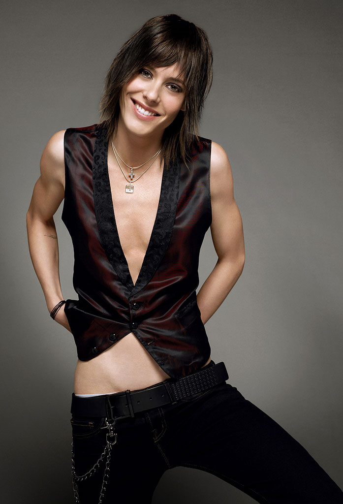 Katherine Moennig stars as Shane in The L Word on Showtime.