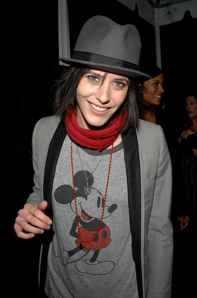 "Katherine Moennig attends the season 5 premiere party for ""The L Word"" at The Factory on January 6, 2008 in West Hollywood, California."