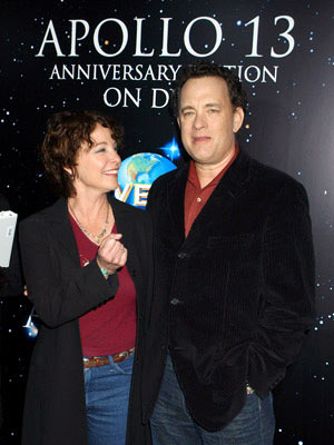 Kathleen Quinlan and Tom Hanks Apollo 13 Anniversary Edition DVD - Screening/Q&A California Science Center - Los Angeles, CA - 3/22/05