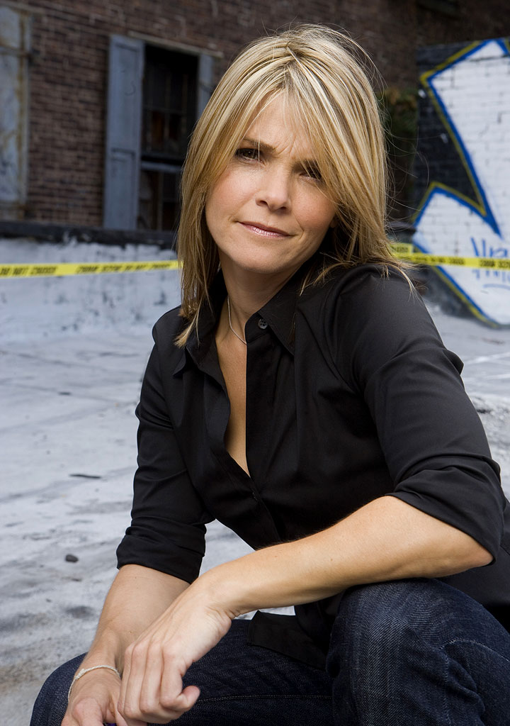 Kathryn Erbe stars as Alexandra Eames in Law & Order: Criminal Intent on NBC.