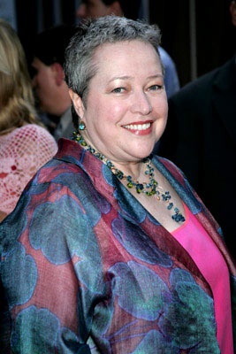 Premiere: Kathy Bates at the New York premiere of Revolution Studio's Little Black Book - 7/21/2004