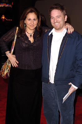 Premiere: Kathy Najimy and cohort at the LA premiere of Universal's Along Came Polly - 1/12/2004