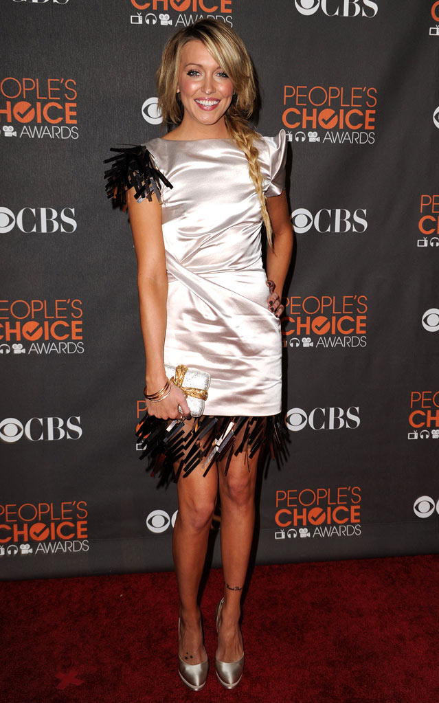 Katie Cassidy attends the 2010 People's Choice Awards at Nokia Theatre L.A. Live on January 6, 2010 in Los Angeles, California.