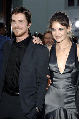 Premiere: Christian Bale and Katie Holmesat the Hollywood premiere of Warner Bros. Pictures' Batman Begins - 6/6/2005