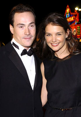 Premiere: Chris Klein and Katie Holmes at the Hollywood premiere of Warner Bros. Ocean's Twelve - 12/8/2004
