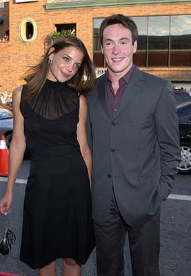Premiere: Katie Holmes and Chris Klein at the Westwood premiere of Universal's American Pie 2 - 8/6/2001