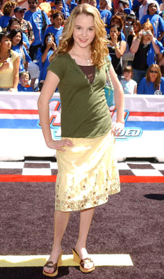 Premiere: Kay Panabaker at the Hollywood premiere of Walt Disney Pictures' Herbie: Fully Loaded - 6/19/2005