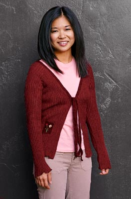 Keiko Agena as Lane Kim in WB's Gilmore Girls