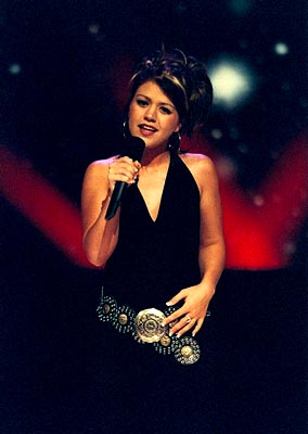 "Kelly Clarkson Final Top Ten Fox's ""American Idol"" - 2002"