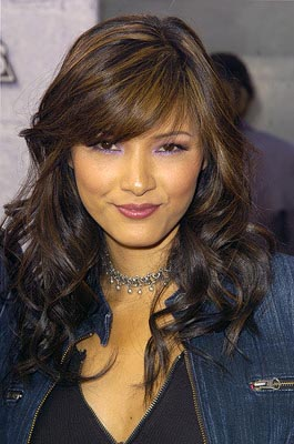 "Kelly Hu played Kirk Cameron's love interest on ""Growing Pains"" once. MTV Movie Awards - 6/5/2004"