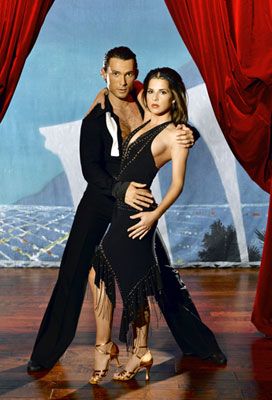 Actress Kelly Monaco teams up with professional dancer Alec Mazo for Season 1 of Dancing with the Stars