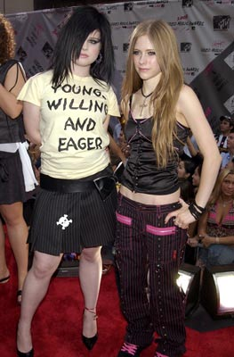 Kelly Osbourne and Avril Lavigne MTV Video Music Awards - 8/28/2003