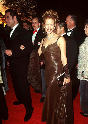 John Travolta and Kelly Preston 68th Academy Awards Los Angeles, CA 3/25/1996